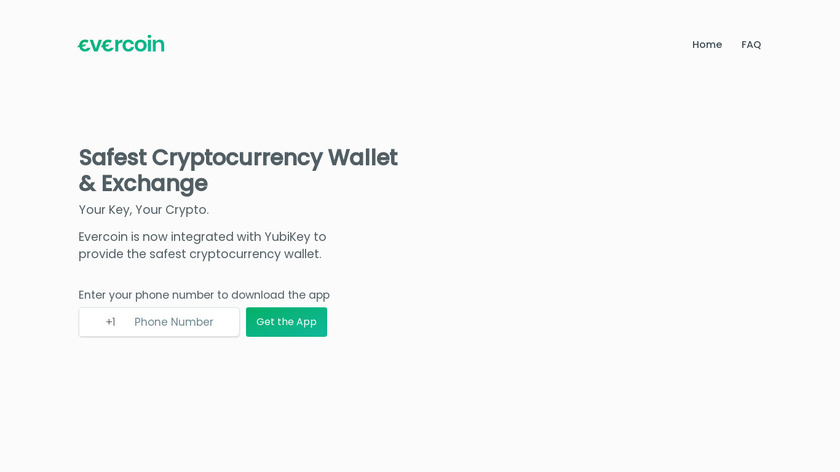 Evercoin Landing Page