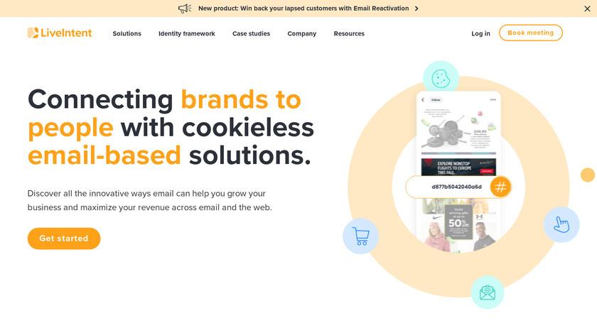 LiveIntent Landing Page