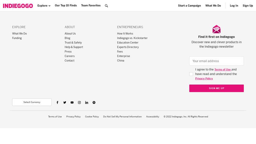 Varram Pet Robot Landing Page