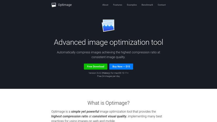 Optimage Landing Page