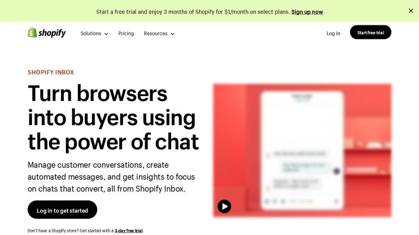 Shopify Ping Landing Page
