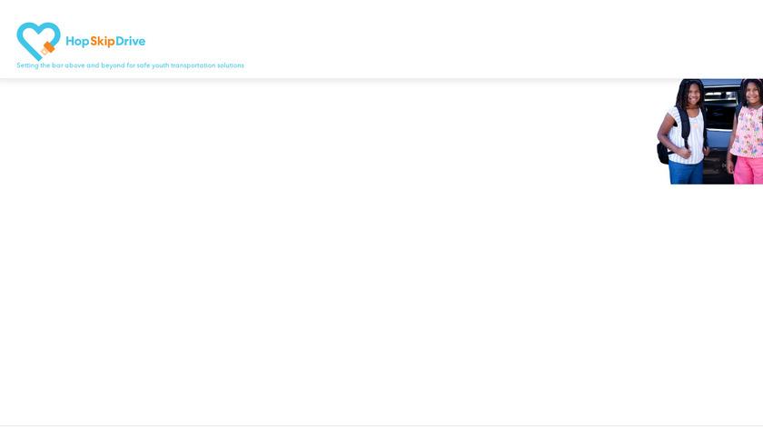 HopSkipDrive Landing Page