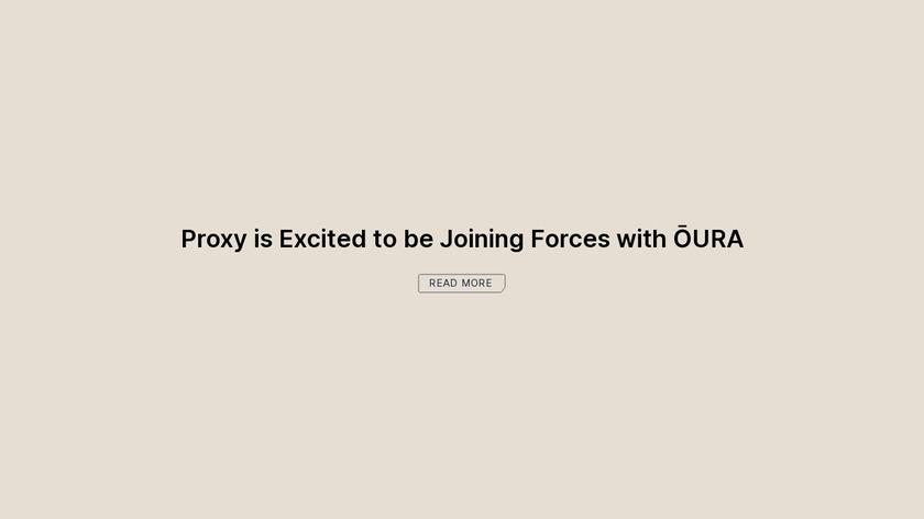 Proxy.co Landing Page