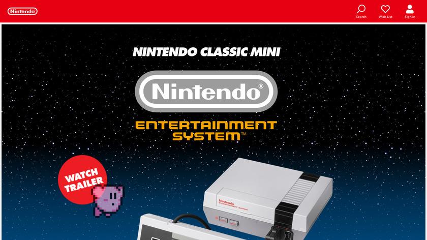 Nintendo Classic Mini Landing Page