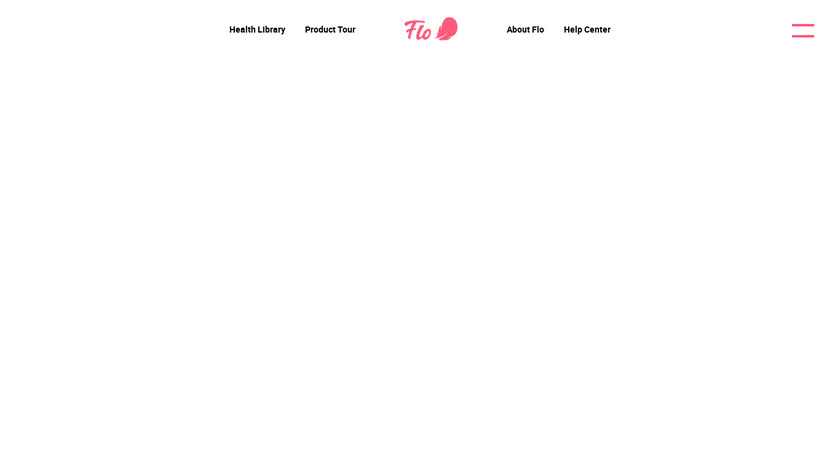 Flo Health Landing Page
