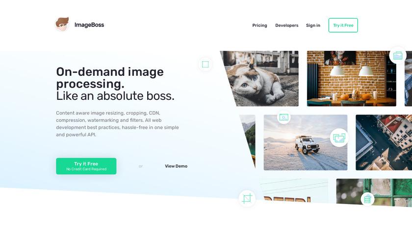 ImageBoss Landing Page