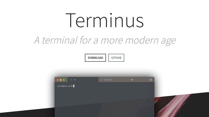 Terminus Landing Page