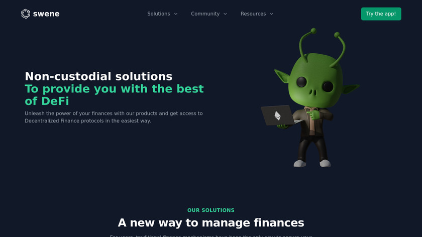 Coins Landing Page