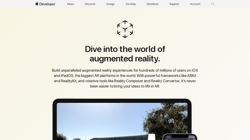 Apple ARKit Landing Page