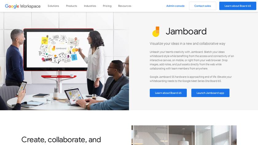 Jamboard Landing Page