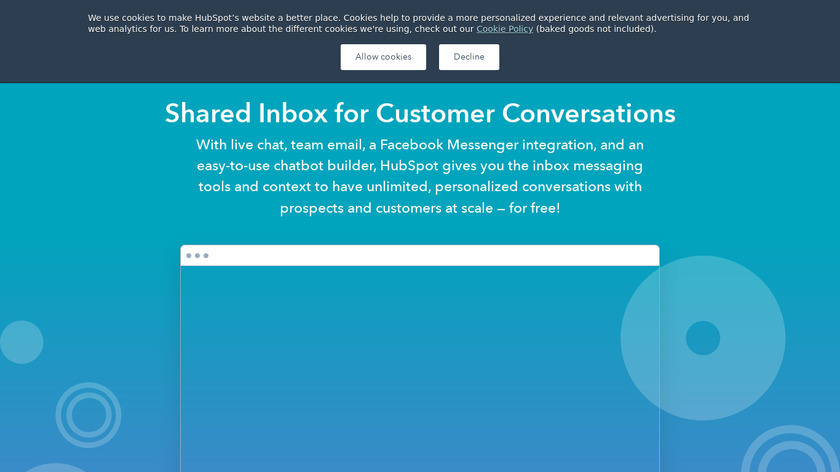 HubSpot Conversations Landing Page