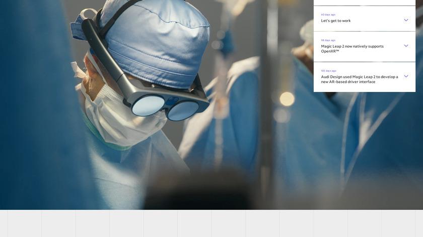 Magic Leap One Landing Page