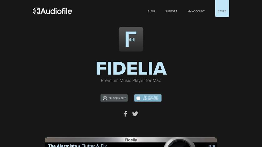 Fidelia Landing Page