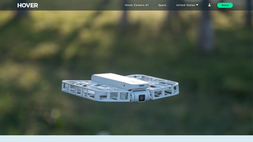 Hover Camera Passport Landing Page