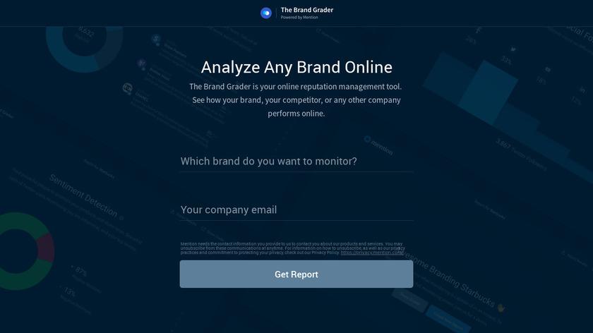 The Brand Grader Landing Page