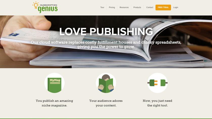 Subscription Genius Landing Page