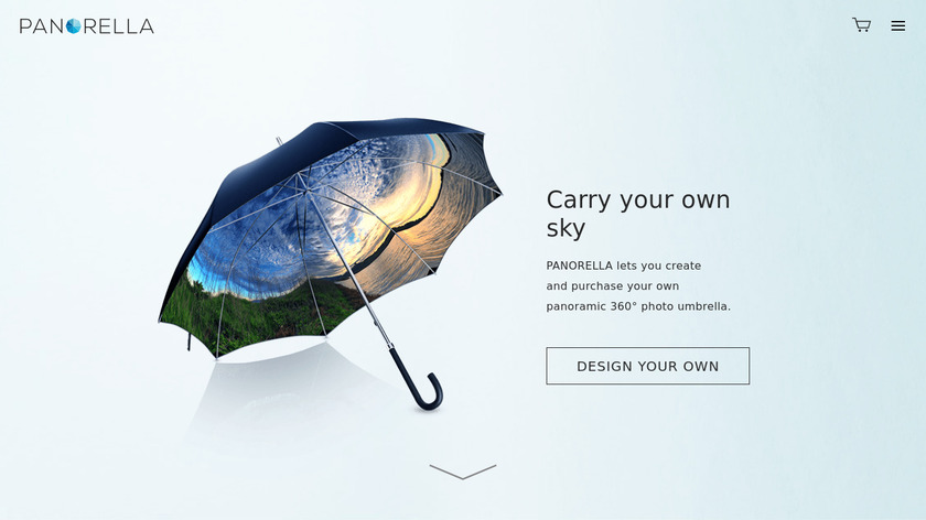 Panorella Landing Page