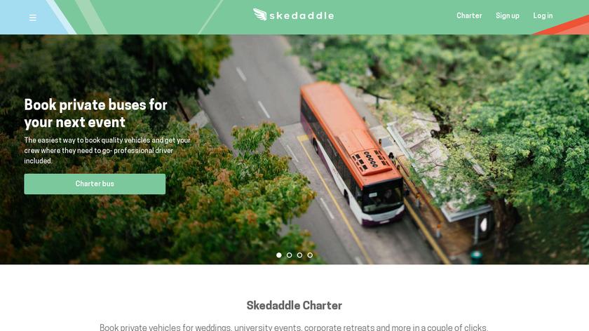 Skedaddle Landing Page