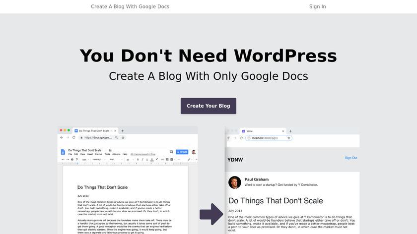 You Don't Need WordPress Landing Page