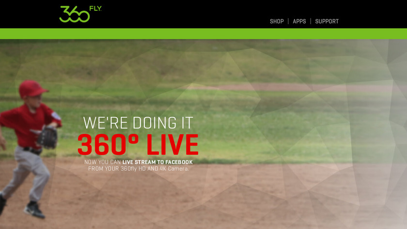 360Fly Landing Page