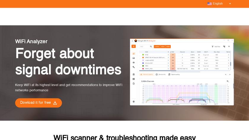 Acrylic Wifi Landing Page