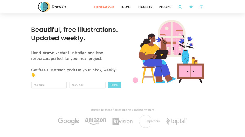 DrawKit Landing Page