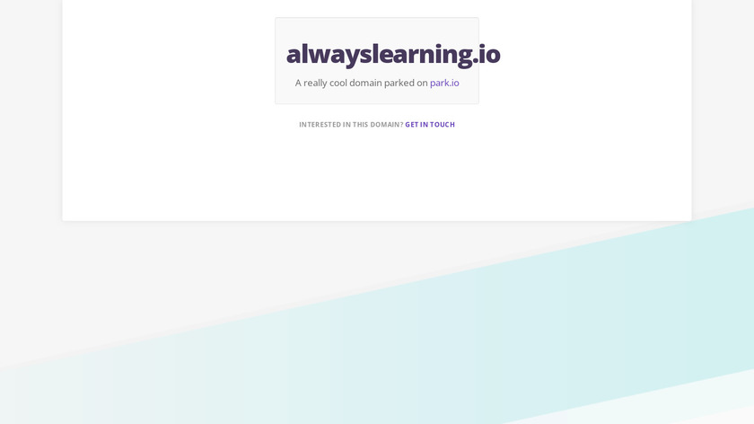 Always Learning Landing Page