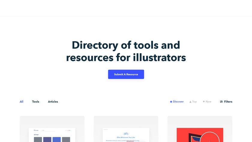 Illustration Tools Landing Page