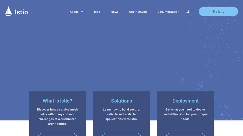 Istio Landing Page