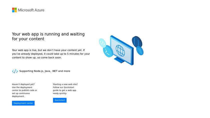 Koder Landing Page