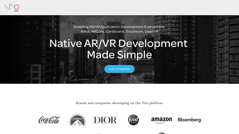 Viro Media Landing Page