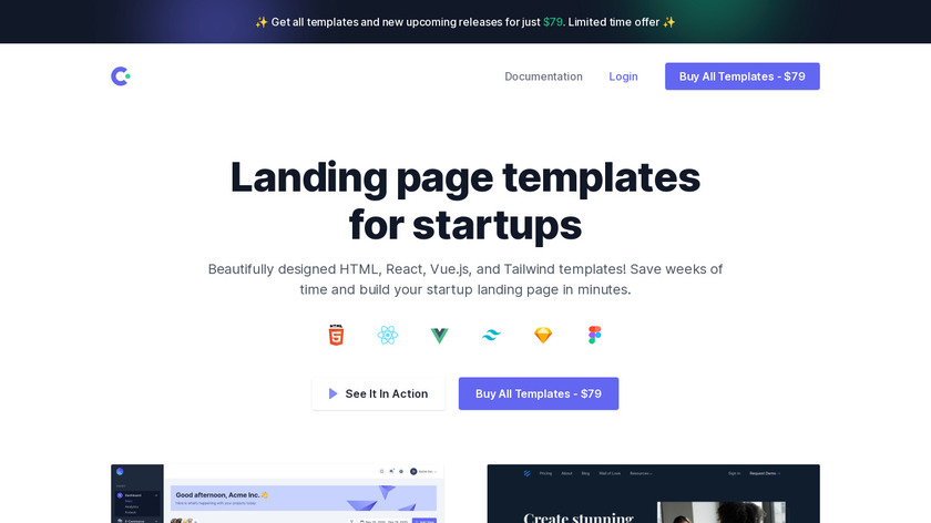 Cruip Landing Page