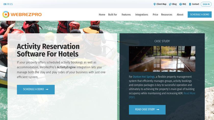 ActivityEngine Landing Page