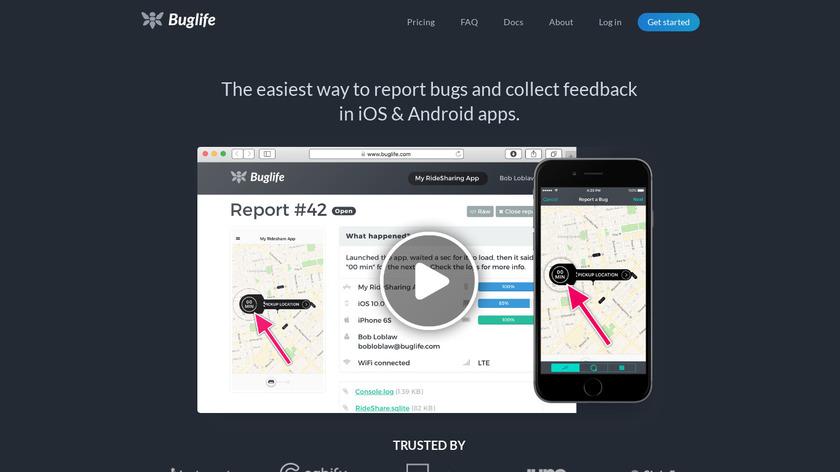 Buglife Landing Page
