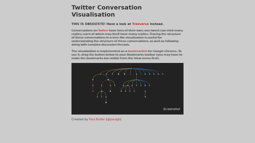 Twitter Conversation Vis Landing Page