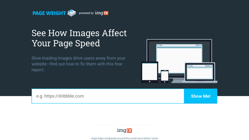 Page Weight Landing Page