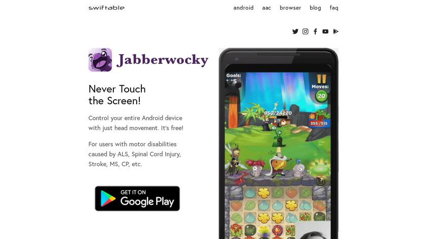 Jabberwocky Landing Page