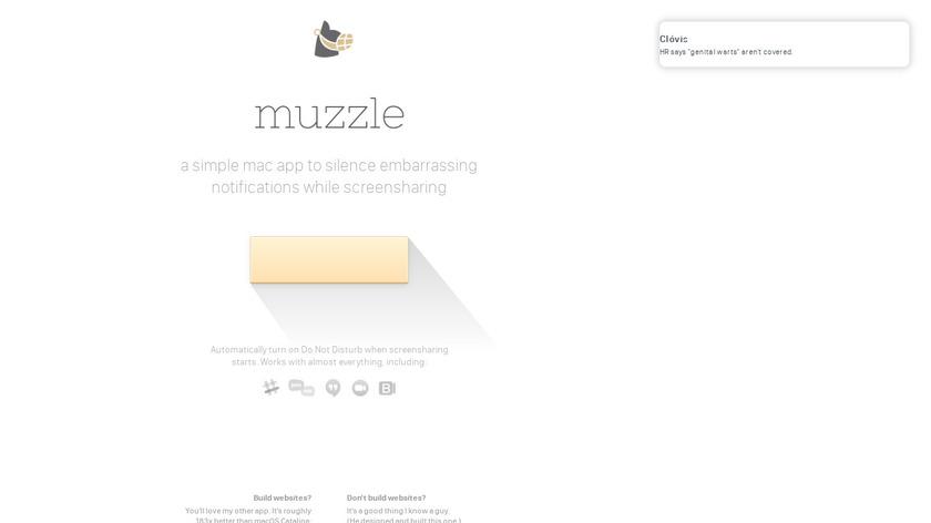 Muzzle Landing Page