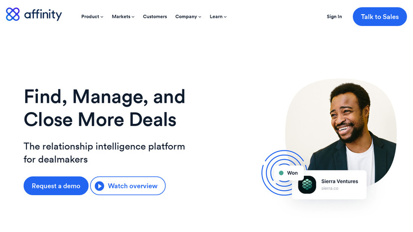 Affinity Landing Page