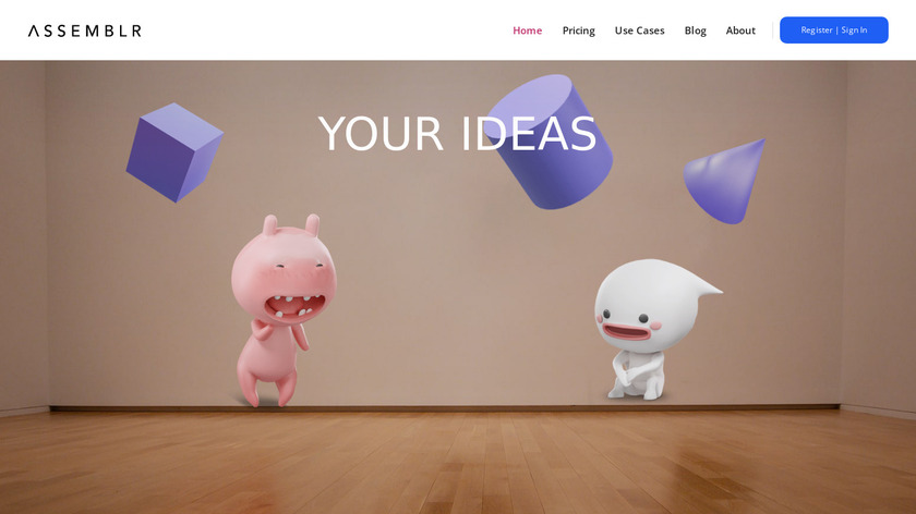 Assemblr Landing Page