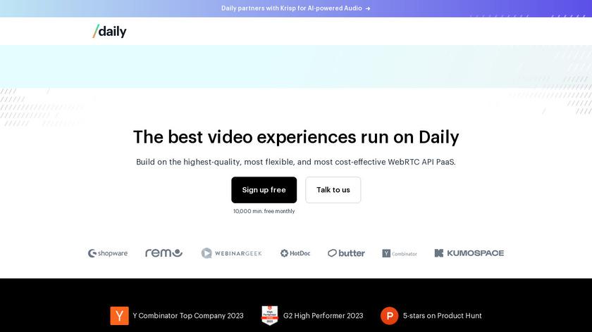 Pluot Communications Landing Page