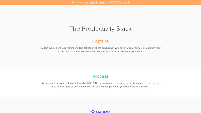 The Ultimate Productivity Stack Landing Page
