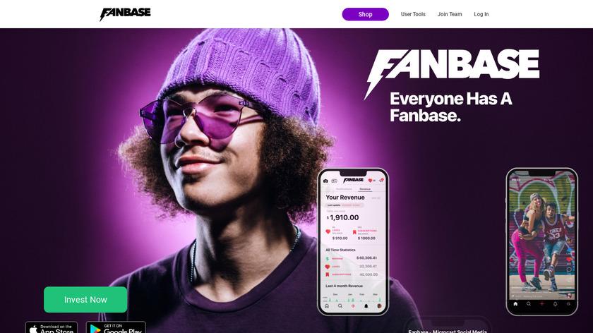 Fanbase Landing Page