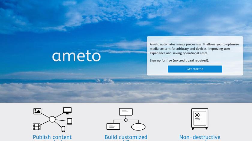 Ameto.de Landing Page