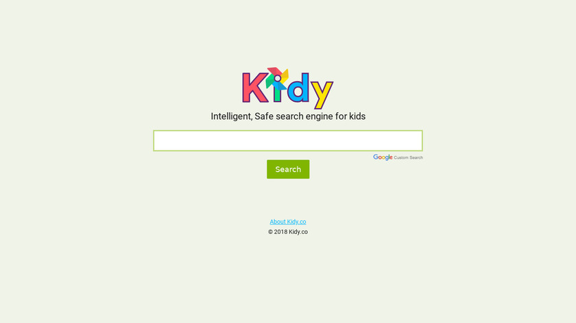 Kidy Landing Page