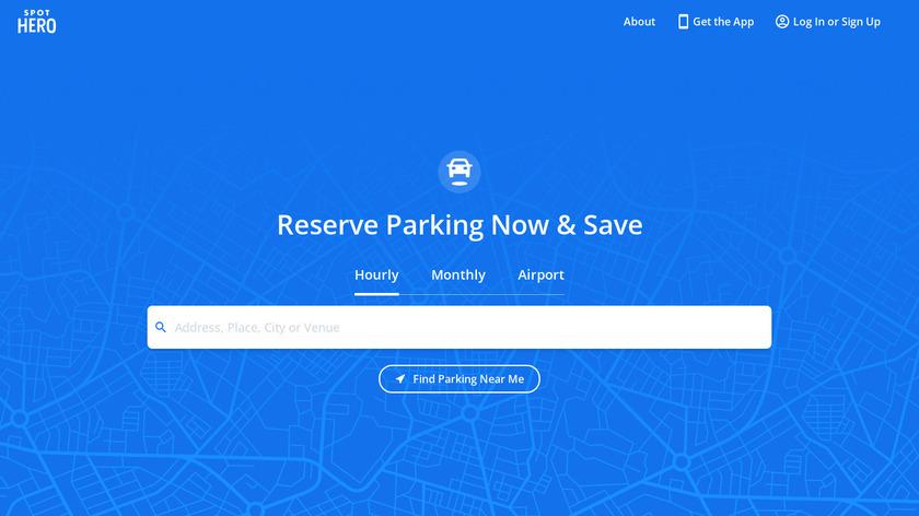 SpotHero Landing Page