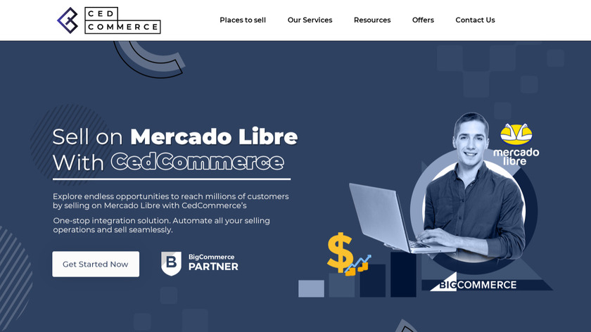 Cedcommerce-BigCommerce Services Landing Page