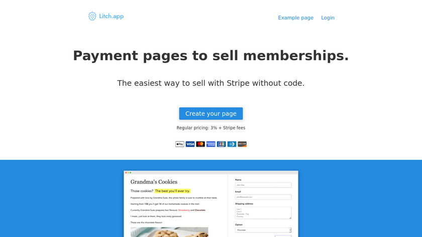 ElioPay Landing Page