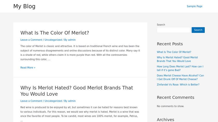 Just Get Me Food Landing Page