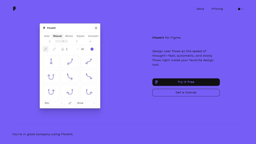 Flowkit Landing Page